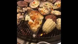 25k ăn tẹt ga  Hải sản nướng Hàn Quốc