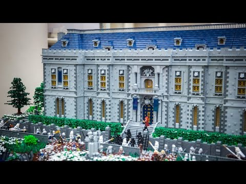 Best LEGO Castle at BrickCon 2015!