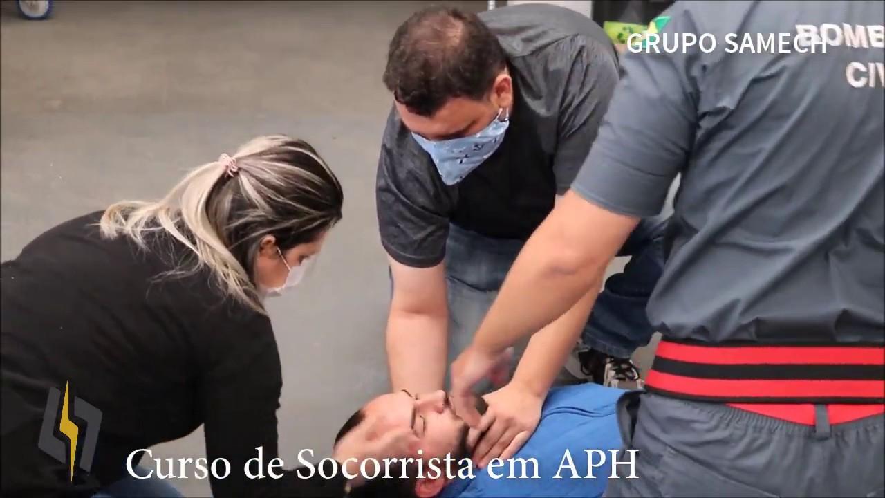 curso de aph para técnicos de enfermagem