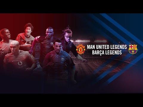 FULL GAME: Manchester United Legends - Barça Legends (2-2)