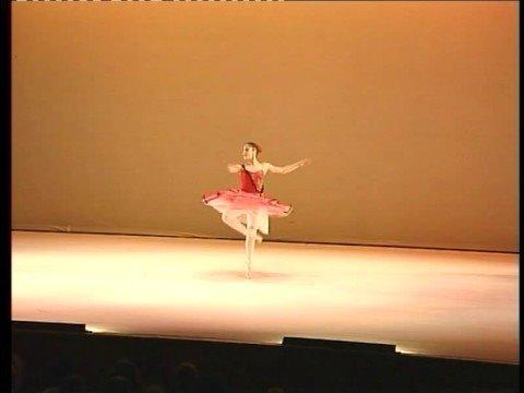 Kitri variation by Dana Zecharia, 1st prize winner on Arbatova Competition.
