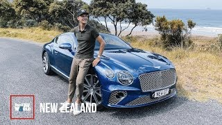 Collecting A New Bentley Continental GT In New Zealand