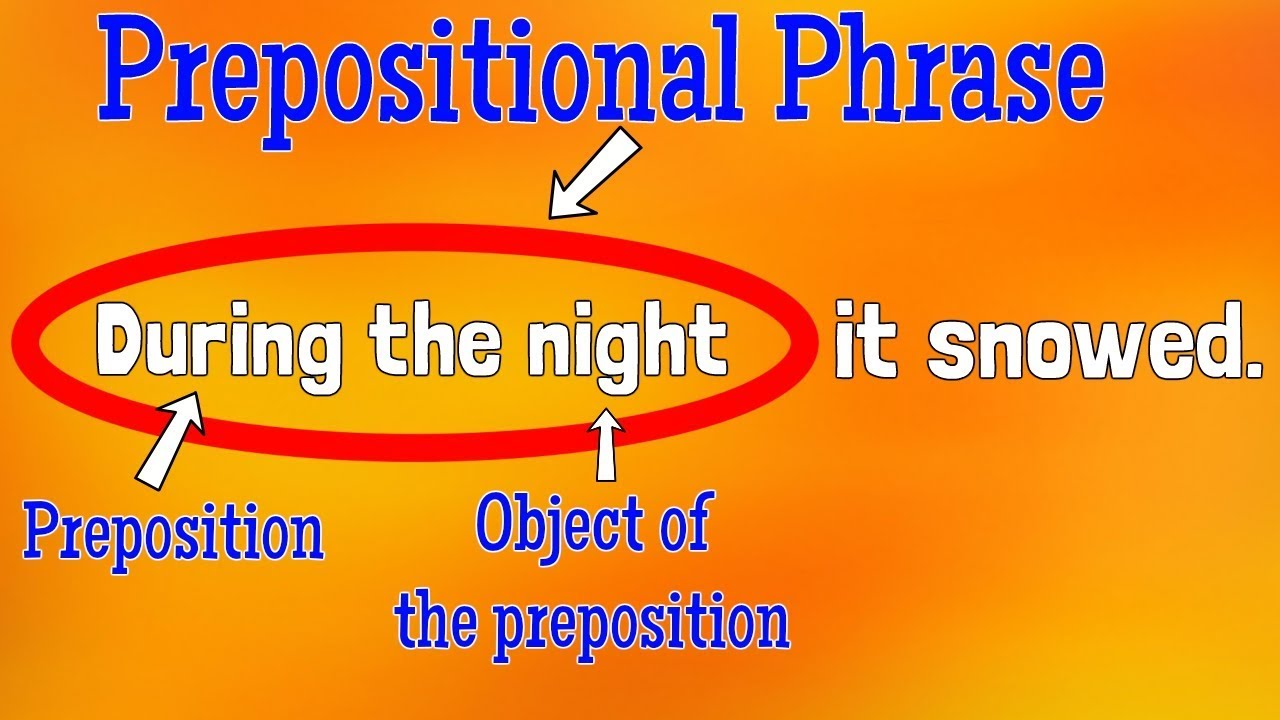 hight resolution of Prepositional Phrases Lesson   Classroom Edition for Kids - YouTube