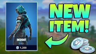 NEW INSIGHT SKIN GAMEPLAY / Fortnite Battle Royale Live