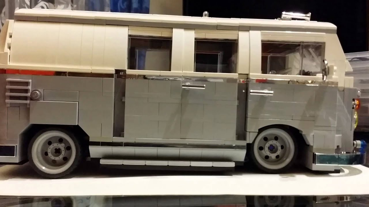 lego 10220 vw bus t1 air indipendent system youtube