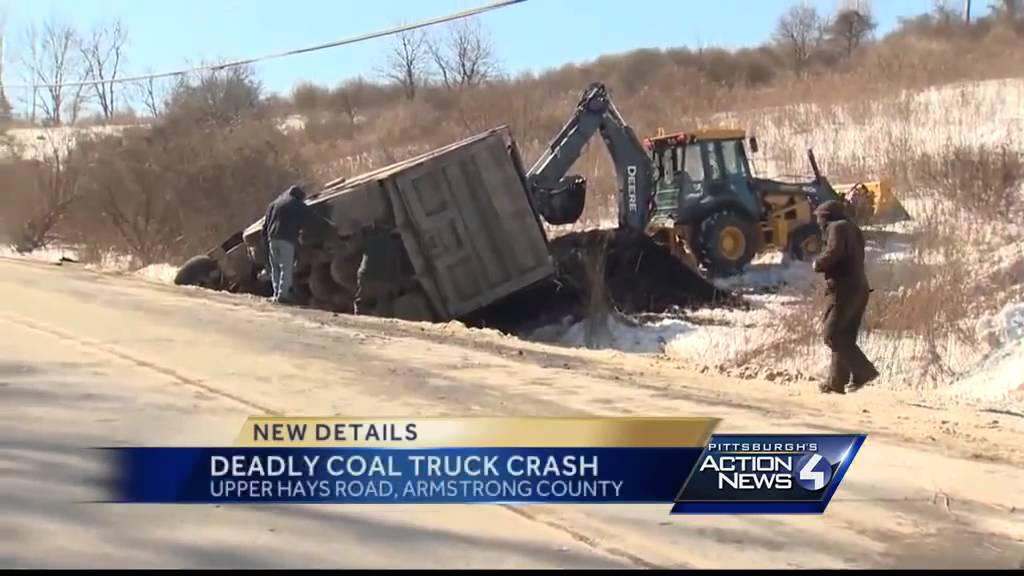 1 dead in crash with coal truck, car on Route 28/66