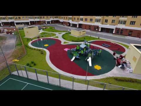 Укладка резинового покрытия на детских и спортивных площадках