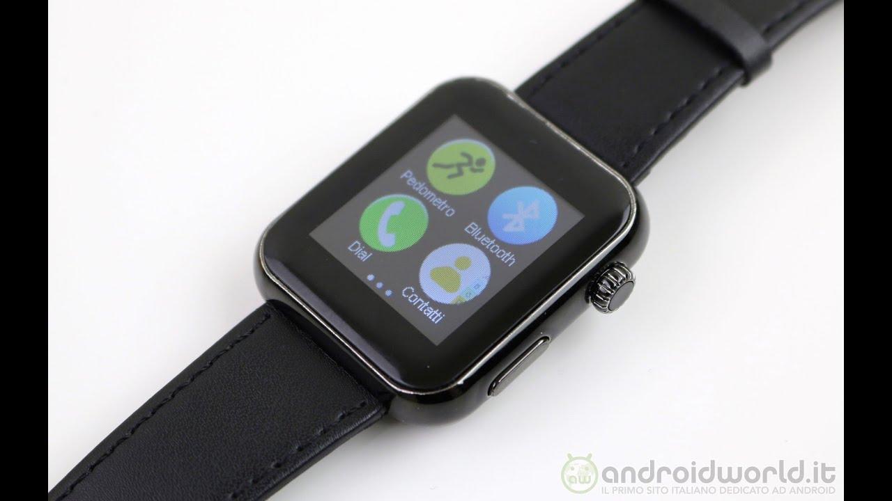 Smartwatch A8 (clone Apple Watch), recensione in italiano ...