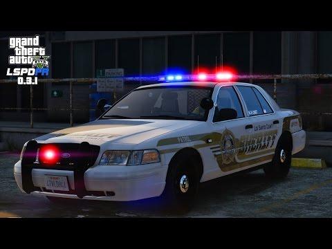 GTA 5 - LSPDFR Day 30 - Sheriff K9 Patrol - Domestic Disturbance Goes Bad