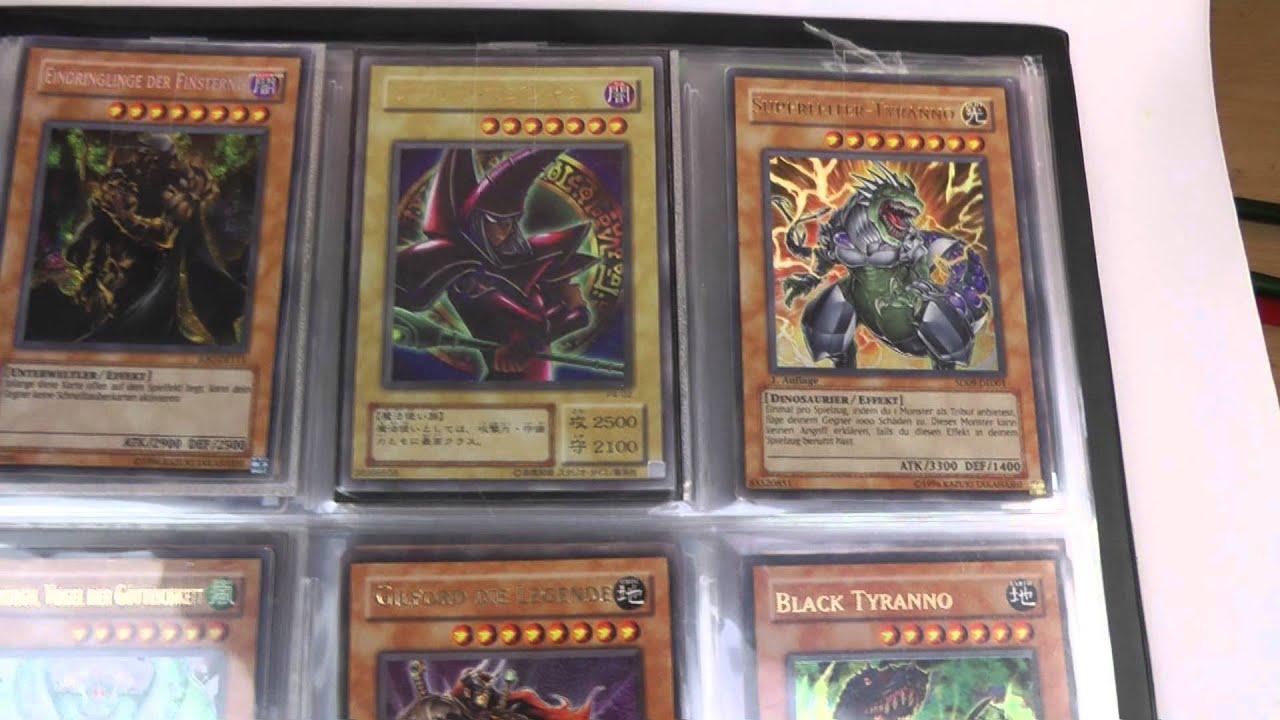 Yu-Gi-Oh Karten Holo Ordner 1 - YouTube