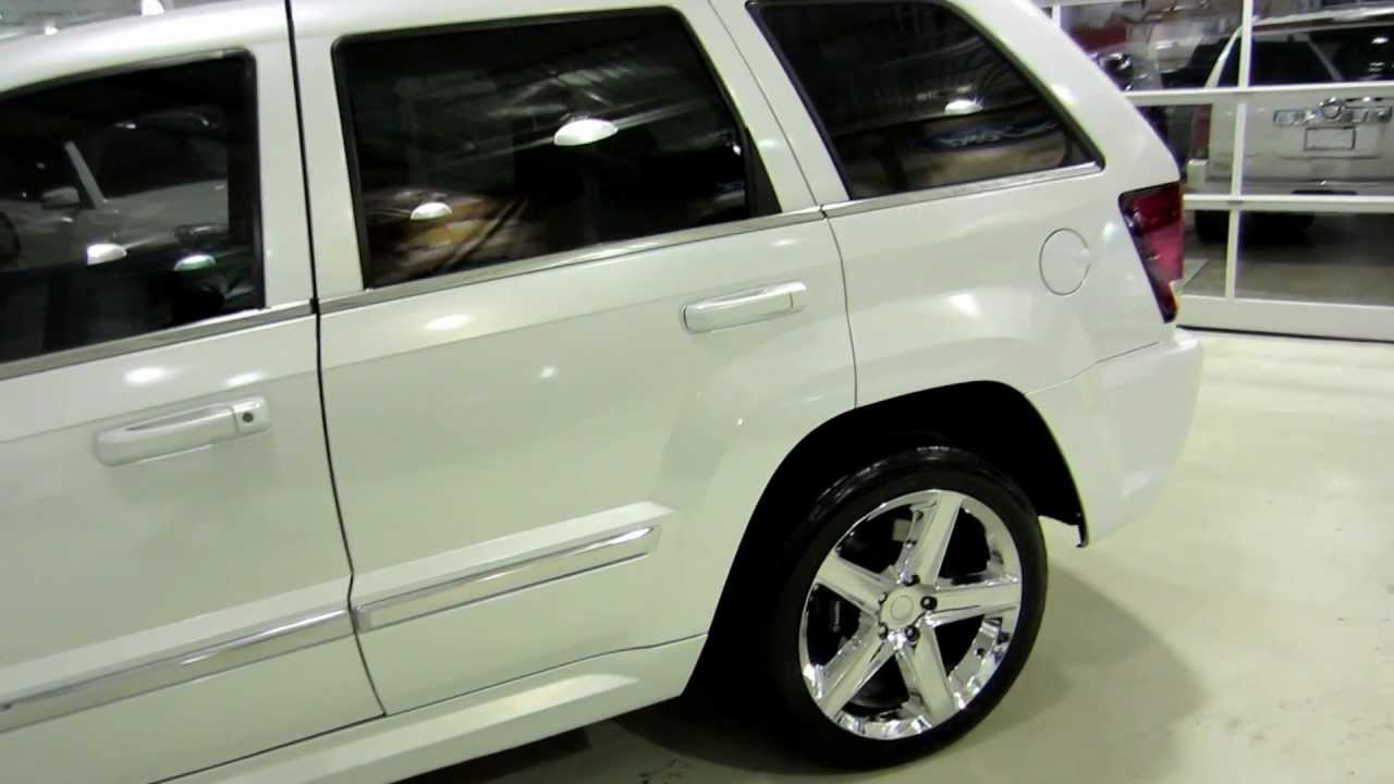 2007 Jeep Grand Cherokee >> JEEP SRT 8 2007 WRAP PEARL WHITE SRT8 SRT-8 425HP GPS ...
