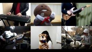[HD]Shoujo tachi wa Kouya wo Mezasu ED [Sekai wa Kyou mo Atarashii] Band cover thumbnail