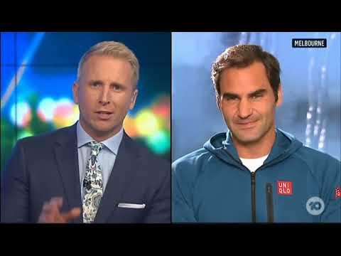 The Project TV - Roger Federer
