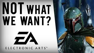 EA Says Uncharted Like Star Wars Game NOT What People Want...