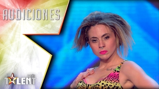 Irie is the 'Dancehall Queen' | Auditions 4 | Spain's Got Talent 2017
