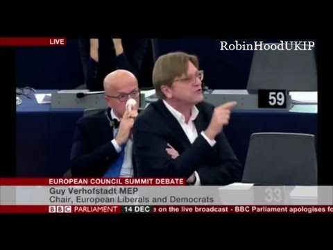 EU psychopath Guy Verhofstadt uses war in Syria to call for EU Army