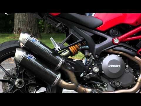 Ducati Monster 1100 Evo Termignoni Sound