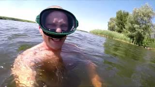 Рыбалка на карпа + подводная сьемка