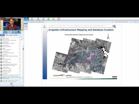 31 May 2017 Application of Geospatial techniques in irrigation water management Dr. Bhaskar R Nikam