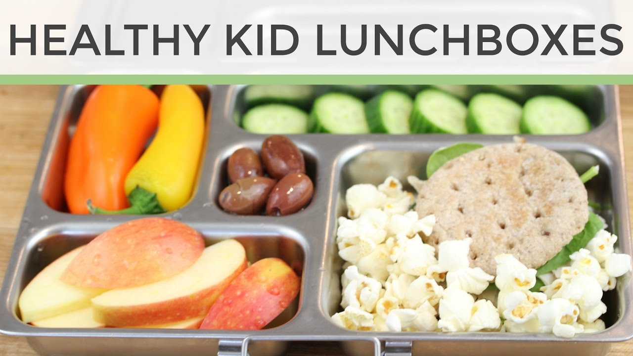 3 Easy Heathy Kid Lunch Ideas