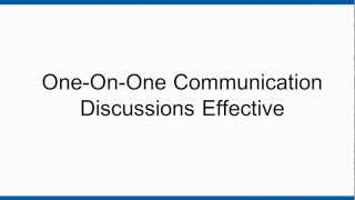 How One-on-One Communication Helps To Build a Safety Culture