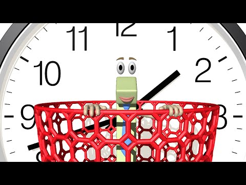 Telling Time - Basics of the Clock 1st Grade