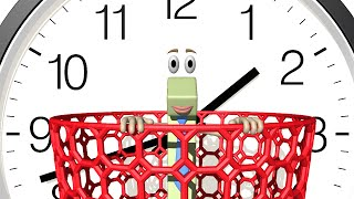 Telling Time - Basics Of The Clock 1st Grade