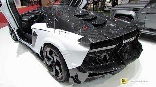 2014 Lamborghini Aventador Carbonado GT Stealth Edition by Mansory - Exterior, Interior Walkaround