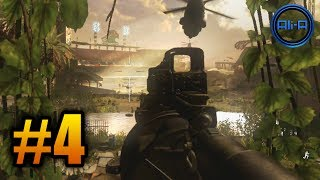 "Call of Duty: Ghosts Walkthrough (Part 4) - Campaign Mission 4 ""STRUCK DOWN"" (COD Ghost)"