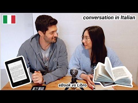 italian-conversation:-preferisci-leggere-un-libro-digitale-o-un-libro-cartaceo?-(subs)
