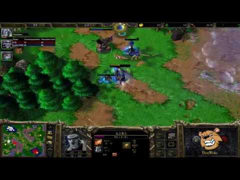 [HD.WC3#387] Infi vs Lucifer - RvU - Warcraft 3 Replay [FR]