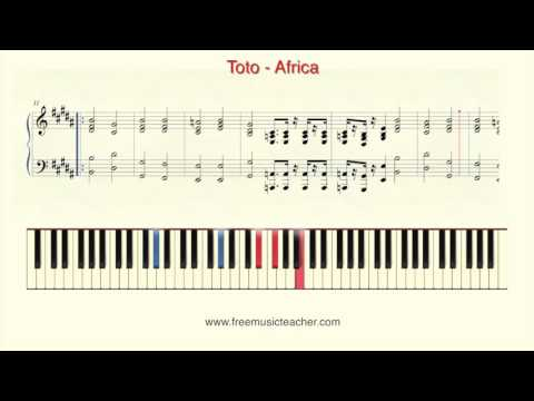 How To Play Piano: Toto