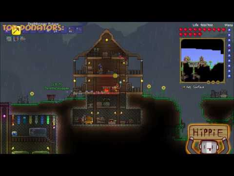 Late Night terraria stream?! (again) (Building The apartments)