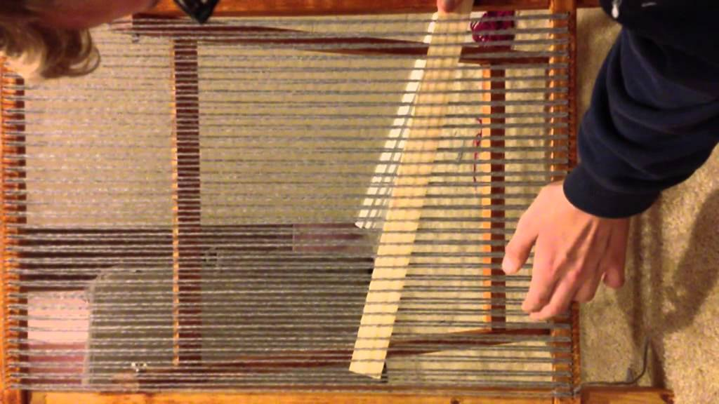 Basic Weaving Loom Instructions Youtube