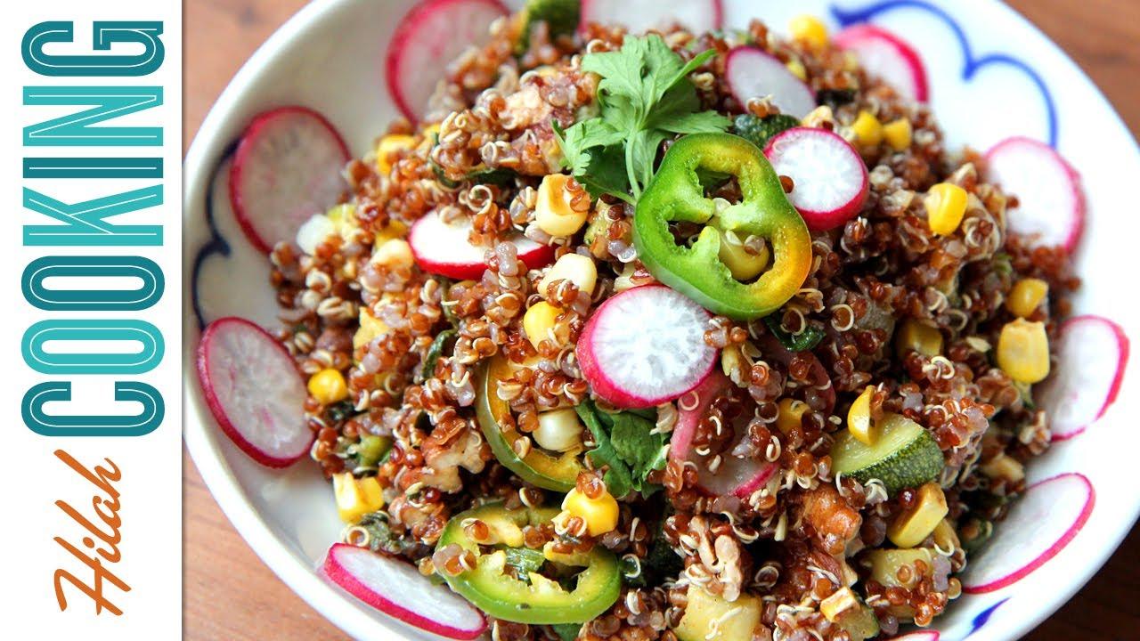 How To Make Quinoa Salad  Hilah Cooking