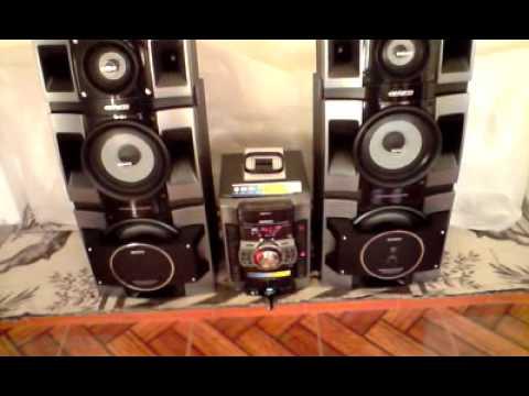 sony genezi MHCGTX888  YouTube