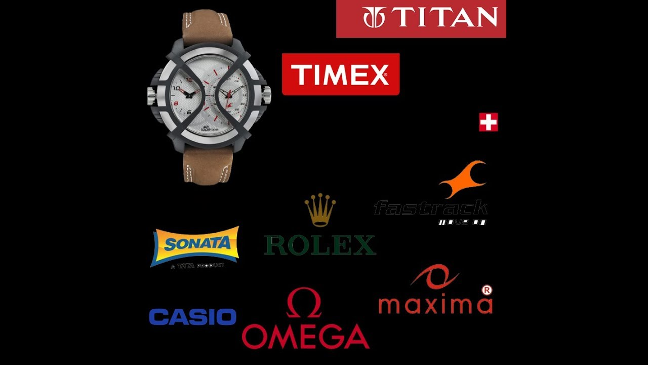 Top 10 most popular fashion brands in the world - Top 10 Most Famous Popular Watch Brands In The World 2017