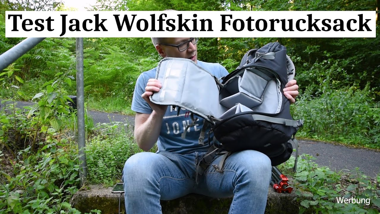Test Fotorucksack Jack Wolfskin ACS Photo Pack Pro
