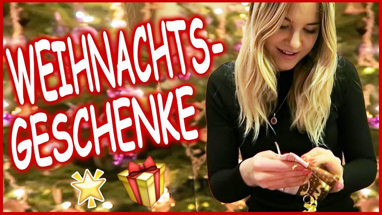 MEINE WEIHNACHTSGESCHENKE +WEIHNACHTEN MIT MEINER FAMILIE - YouTube