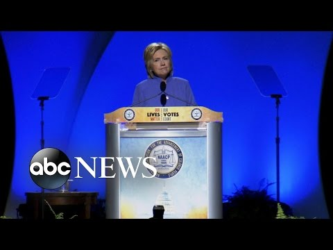 Clinton Vows Criminal Justice Reform at NAACP Conference