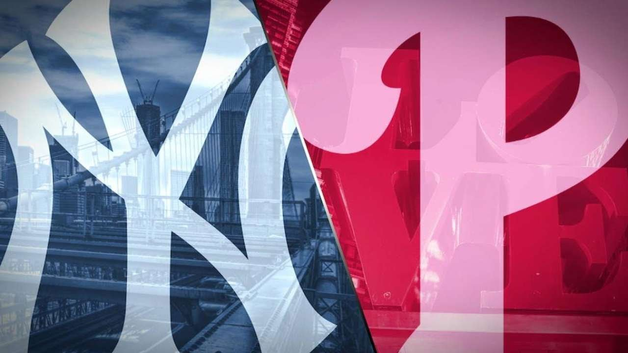 Let's try this again: Phillies vs. Yankees series preview
