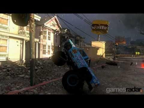 MotorStorm Apocalypse: 150 seconds of car-exploding mayhem