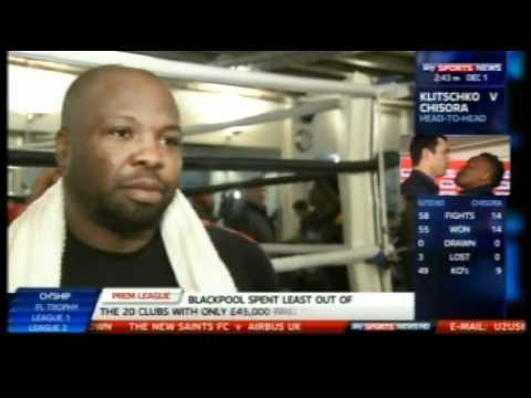 Don Charles 'Chisora Has The X-Factor'
