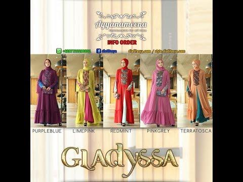 Dress Pesta Hijab Elegan Glamour Terbaru Edisi Gladyssa 2017/2018 WA 087722290001