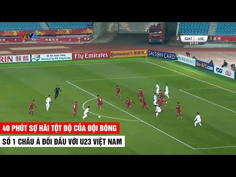 Những Phút Sợ Hãi Tột Độ Của Đội Bóng Số 1 Châu Á Khi Đối Đầu Với U23 Việt Nam | Khán Đài Online