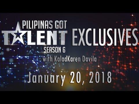 Pilipinas Got Talent Season 6 - January 20, 2018
