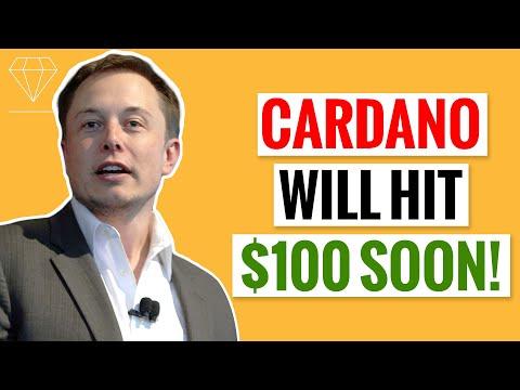 Elon Musk Says Cardano ADA Will Hit 100$ SOON