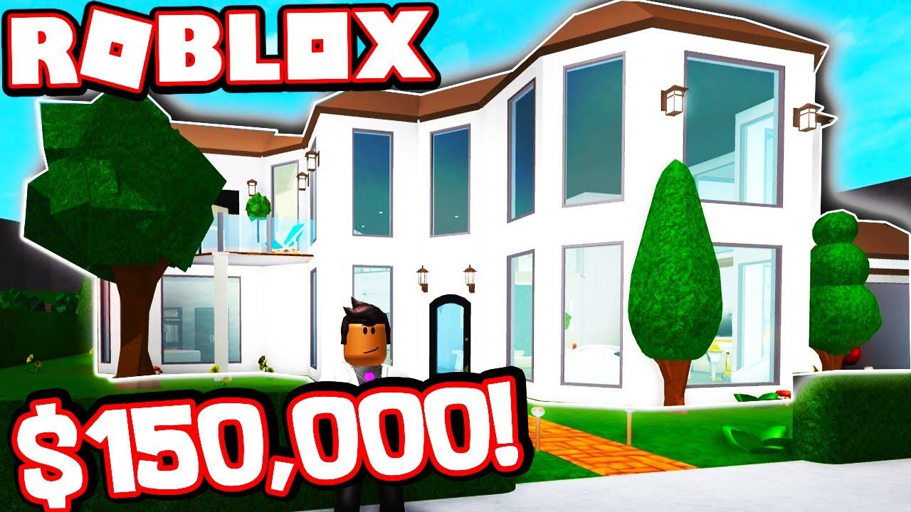 My 150 000 Bloxburg House Tour Youtube