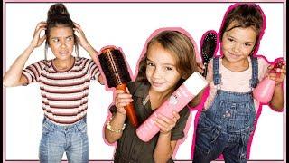 LITTLE SISTER  Does TEEN girls HAIR for 3 days!