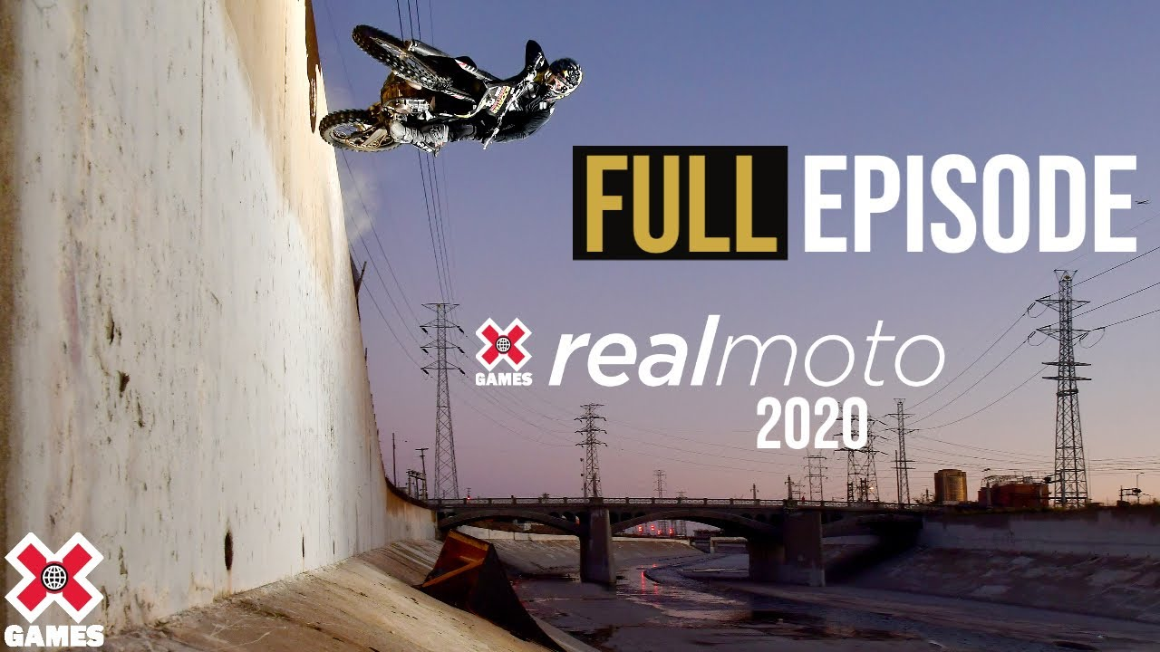 REAL MOTO 2020: Full Broadcast | World of X Games - Νεο επεισόδιο 46.58 λεπτά